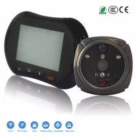 "Wholesale digital video door viewer peephole - Funxwe 3.7"" LCD Doorbell WiFi 1080P Door Viewer GSM Wireless Camera SMS Alarm Video Call Peephole Digital Intercom Door Phone"