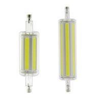 r7s führte 78mm 15w großhandel-30w 15w 118mm 78mm r7s LED dimmbar Anstelle von 150w 300w Halogenlampe Pfeiler Energiesparhochschulen leistungsstark