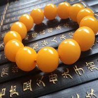 Wholesale beeswax bracelet resale online - Beeswax Bracelet Beads mm Fashion Bracelets for Men Women Buddha Jewelry