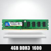 desktop ddr3 al por mayor-Dimm Ram DDR3 4 gb 1600 MHz ddr 3 4 gb PC3-12800 Memoria 240pin para todos los equipos de sobremesa Intel AMD