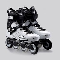 роликовые коньки оптовых-Wholesale-2015 Comfortable French Road Show RX5 Adult Inline Skating Shoes/Roller Patins/ Patins Adulto /Ice Hockey Skates Size EU35-44