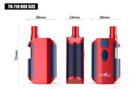 coole e zigaretten großhandel-Authentische Kangvape TH-710 Box Mod Kit E Zigaretten 650mAh th710 Vape Mods 0,5 ml Vape Patronen 7 Cool Farben für Dicköl E-Flüssigkeit