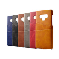 Wholesale case mobile huawei online - PU Leather Coque For Huawei P20 Lite case Luxury Back Cover Card Holder Mobile Phone Cases For Samsung Galaxy Note
