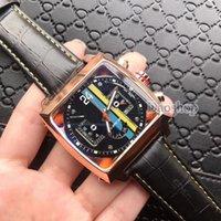 calibre 16 relógio automático venda por atacado-2018 Marca de Luxo Mecânico Automático Mens Relógios Homens Marca De Couro Militar Esportes Relógio Calibre 16 Horas Data Relogio masculino DZ