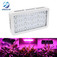 Wholesale indoor plant lights resale online - 1200W leds LED Grow Light double chip growing lamp Full Spectrum plant growth lighting for Indoor Greenhouse hydroponics