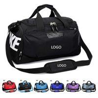 fußballhandtaschen großhandel-Wasserdichte Oxford Gym Yoga Gepäck Messenger Bags Sport Training Schuhbeutel Basketball Fußball Tasche Handtaschen Outdoor Travel Duffel Bag Tote