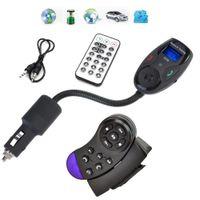 Wholesale music control car steering - Car Kit Steering Wheel Control Bluetooth Car MP3 Music Player Hands free Wireless FM Transmitter Modulator Car Audio USB SD BT