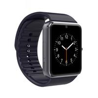 галактика smartwatch оптовых-10 шт. 2017 Последний GT08 Smartwatch A1 DZ09 U8 Bluetooth Smart Watch phone для Samsung Galaxy Android смартфон шагомер мониторинг сна