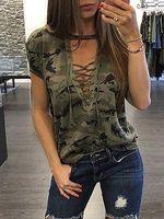 Wholesale Leopard Print T Shirts - New Women's Ladies Summer Short Sleeve Loose T shirt Casual Shirt Tops T-Shirt