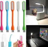 pc klavye için led lambası toptan satış-Mini USB Işık Lambası Okuma Lambası Bilgisayar Klavye Okuma Dizüstü PC Dizüstü Araç Aksesuarları EEA211 Araç-stil LED