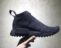 Wholesale vintage sport socks - 2018 Hot Nmd City Sock Men Women Shoe,Men NMD CS1 City Sock PK Core Black Vintage Ftwr Casual Sports Shoes running shoes Footwear