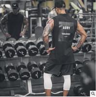 tendances vêtements pour homme achat en gros de-Marque Fitness Vêtements Salles de gym singlets Hommes Débardeurs Nouvelle Tendance Mens Bodybuilding Stringers Débardeurs Tanktop Golds Sporting Sleeveless T Shirt
