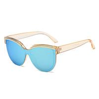 секси пальто оптовых-2018 JOZQA Q8665 солнцезащитные очки поляризованные секс Леди солнцезащитные очки Женщины покрытие зеркало женский Eyewears аксессуары для Леди
