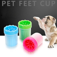 Wholesale toy washer online - Pet Products Foot Washer Foot Washer Cup Claw Washer Cup Easy To Clean Soft Silicone Brush Dog Claw