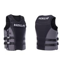жилеты спасательные жилеты оптовых-Professional Life Jacket Vest Adult Buoyancy Lifejacket Protection Waistcoat for Men Women Swimming Fishing Rafting Surfing