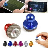 Wholesale force feedback online - Best Selling Mini Small Size Stick Game Joystick Joypad For Touch Screen Android Cell phone Joystick
