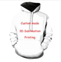3d fotoğraf baskısı toptan satış-Yeni Moda Kadınlar / Erkekler Çiftler Tasarım Anime / Fotoğraf / Yıldız / Istiyorsanız / Şarkıcı Desen / DIY Komik 3d Baskı Kapüşonlu Tişörtü Kazak L031
