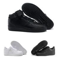 new product bc5d5 c62d1 Nike Air Force 1 Leather AF1 designer shoes CORK Pour Hommes Femmes Haute  Qualité One 1 Chaussures De Course Faible Cut All Blanc Noir Couleur Casual  ...