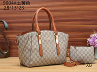 Wholesale glitter shopping bags online - Europe luxury brand women bags handbag Famous designer handbags Ladies handbag Fashion tote bag women s shop bags backpack with tag K01