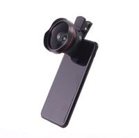 iphone hd lens achat en gros de-S-Mart Phone Camera Lens 0.6X Grand Angle 15X Macro Lens 2 en 1 Clip-On Cell Phone HD Camera pour iPhone 8, 7, 7 Plus, 6s, Samsung