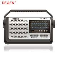 Wholesale packing usb flash for sale – best Quality Degen DE320 in Portable FM Shortwave Full Band Radio MP3 Player USB Flash Disk Support TF Card Multiband Radio