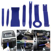 Wholesale dashboard kit resale online - 7pcs Hard Plastic Auto Car Radio Panel Interior Door Clip Panel Trim Dashboard Removal Opening Tool Set DIY Car Repair Tool Kit