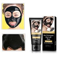 ingrosso l'acne rimuove la crema-BACC Cura del viso Rimuovere la maschera di comedone Shrink Pore migliorare la pelle ruvida Acne Blackhead Remover Mask crema idratante viso DHL