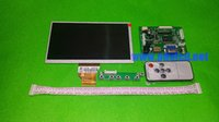 """Wholesale Hdmi Board Lcd - Wholesale- 7.0"""" inch Raspberry Pi LCD Display Screen for INNOLUX TFT LCD Monitor AT070TN90 + Kit HDMI VGA Input Driver Board Free Shipping"""