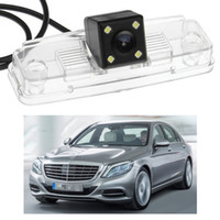 caméra arrière mercedes benz achat en gros de-Nouvelle caméra de recul 4 LED pour voiture avec caméra de recul CCD pour M-Benz S-Class 2014-2016 2015