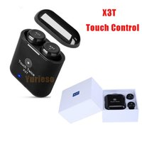 Wholesale Chinese Subwoofer - X3T Touch Control Wireless Bluetooth headphones portable mini Subwoofer headset with charge box universal HIFI earphones