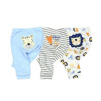 Wholesale owl clothing boy for sale - 3 spring and autumn kids clothing boys girls harem pants cotton owl trousers baby pants Y18102307