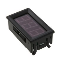 Wholesale mini digital voltage panel meter resale online - 0 in DC V Wire Mini Voltmeter LED Display Digital Panel Meter High Precision Voltage Tester