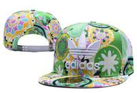 цвет продажи шляпы оптовых-Новый 2018 горячая хорошая распродажа Navy7 Color LA Fit шапки мужская квартира мода спорт бейсбол вышитые буквой AD NK баскетбол шапки