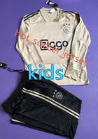 Wholesale kids boys wear - 2017 kids ajax survetement football tracksuits 2018 KLAASSEN MILIK Long pants wear ajax kids training suit jacket kit