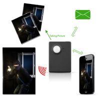 Wholesale gsm pir alarm camera online - gps pir Wireless Mini M Infrared Camera Video Security GSM Tracker Autodial Home Office GPS PIR MMS Alarm System