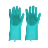 Wholesale clean beds for sale - Silicone Cleaning Gloves Dish Washing Gloves Eco Friendly Scrubber Cleaning Multifunctional Kitchen Bed Bathroom Colors