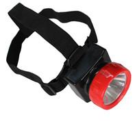lámparas de minero al por mayor-Envío Gratis LD-4625 LED Miner Safety Cap Lamp / LED Mining Light Alta seguridad con cargador de coche