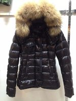 damas abajo abrigos de invierno parka al por mayor-M95 ARMOISE parkas para mujer chaqueta de invierno Abrigo de invierno Mujer anorak para mujer abrigos con chaquetas de piel de mapache real