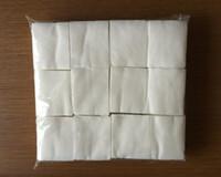 manikür pedi toptan satış-1000 adet paketi Lint-Free Oje Çıkarıcı Pamuk Pedleri Beyaz Silin İpuçları Temizleyici Sökücü Kağıt Manikür Tırnak Sanat Araçları