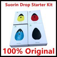 Wholesale drop charge - 100% Original Suorin Drop Starter Kit 300mAh Battery with 2ml Cartridge pocket Design E-cig Kit Fast Charging Kit