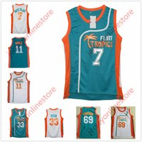 Men Semi Pro Movie Flint Tropics 7  Coffee Black Jersey Stitched Wholesale  33  Jackie Moon 69  Downtown 11  ED Monix Basketball Jerseys d923d1cb5