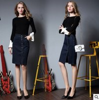 Wholesale Geometric Skirts - Women Shorts High Waisted Denim Shorts Fashion Summer Slim Hole Skirt Women Jeans Shorts Female Skirt