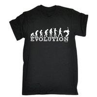 ingrosso chitarre elettriche rock-T-shirt per chitarra Evolution Band Electric Rock Rock Musica acustica Regalo di compleanno Uomo Estate maniche corte T Shirt