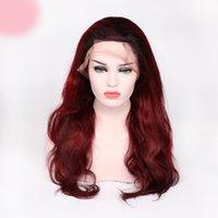 ingrosso lunghe parrucche colorate-Miele di capelli umani vergini remy al 100% non trattati # 1bt99j parrucca superiore in seta con pizzo lungo per il corpo