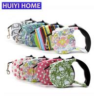 Wholesale Retractable Belt Dog Leash - Huiyi Home 5m Leash Dog 12 Colors Automatic Retractable Dog Leash Pet Products Belt Pet Accessories ENA012