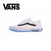 Wholesale Canvas Winter Tennis Shoes - 2018 Athentic Vans ® Off The Wall Old Skool Canvas White Mens Designer Sports Running Shoes for Men Sneakers Women Casual Trainers