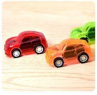 Wholesale funny cute baby boy - 5pcs Baby Toys Pull Back Cars Plastic Cute Toy Cars for Child Wheels Mini Car Model Funny Kids Toy for Boys Random Color
