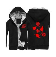 Wholesale naruto sasuke jacket for sale - Naruto Hoodie Anime Naruto Sasuke Uchiha Jacket Hooded Hoodies Anime Sweatshirt Cosplay Hoodies Adult Men