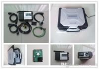 mercedes laptop venda por atacado-07/2019 MB estrela c5 para mercedes benz ferramenta de diagnóstico com Toughbook CF30 laptop 320 gb hdd para carro e caminhão scanner