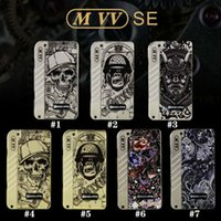 Wholesale threaded led light - Authentic Dovpo M VV Box Mod with 4 LED Indicator Lights Fit Two 18650 Battery 510 Thread 0.1ohm Atomizers 100% Genuine 2203024